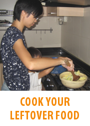 Tips - Cook Your Leftover Food