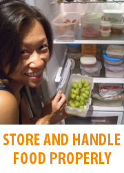 Tips - Store And Handle Food Properly