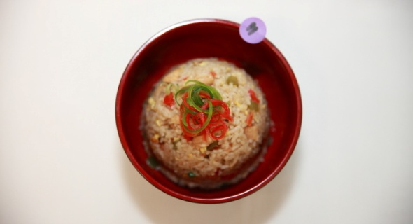 Chicken Caps Rice
